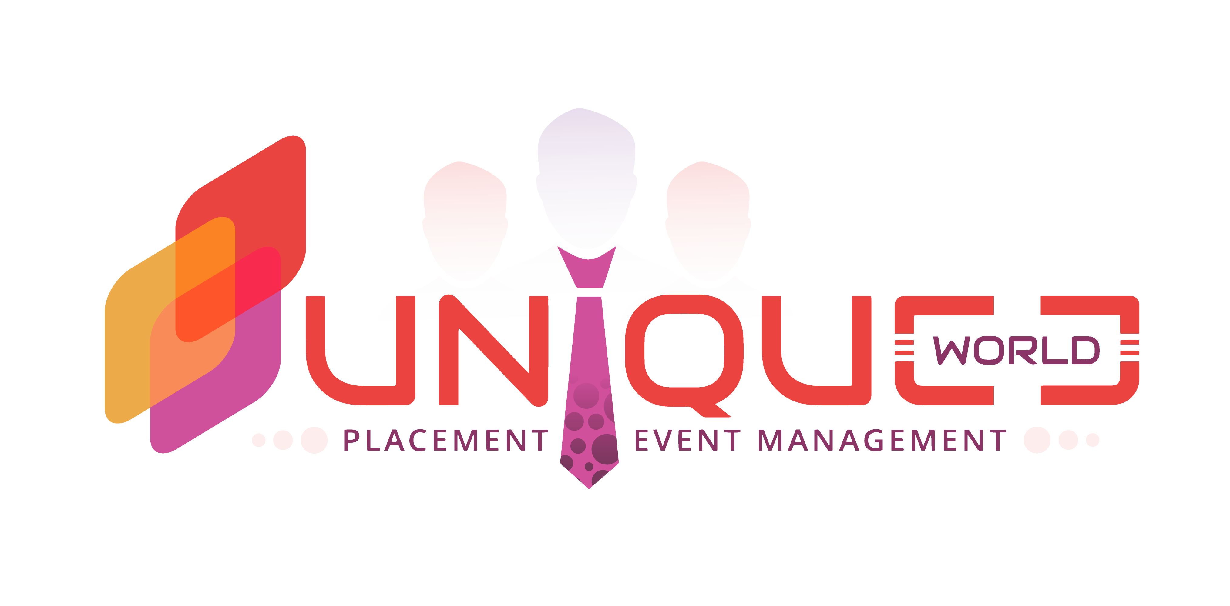 Unique World Placement & Event Management logo